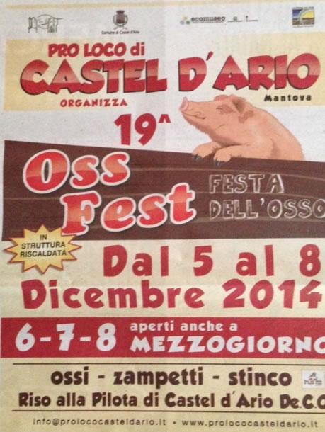 19° Oss Fest a Castel D'Ario (MN)
