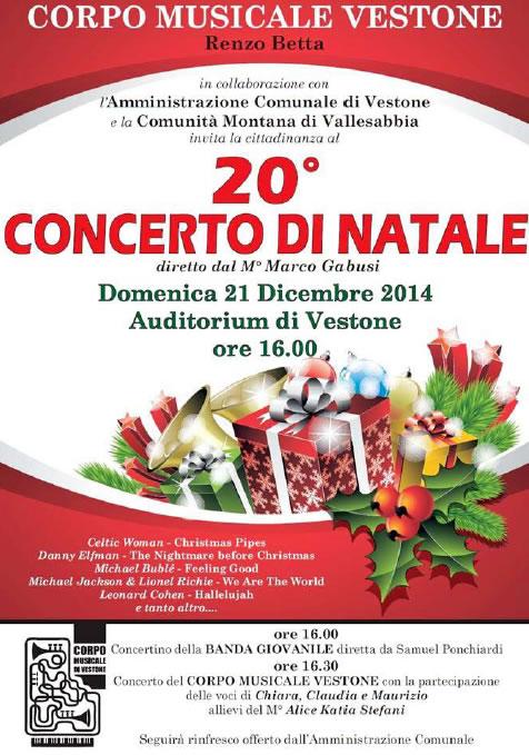 20° Concerto di Natale a Vestone