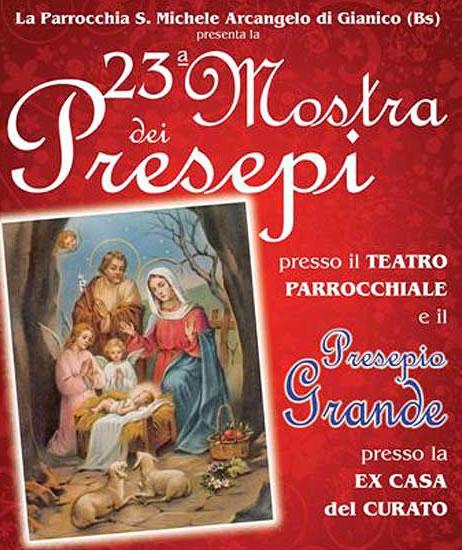 23° Mostra dei Presepi a Gianico