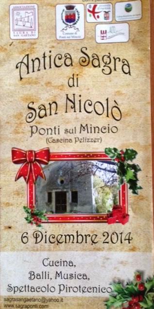 Antica Sagra di San Nicolò a Ponti sul Mincio (MN)