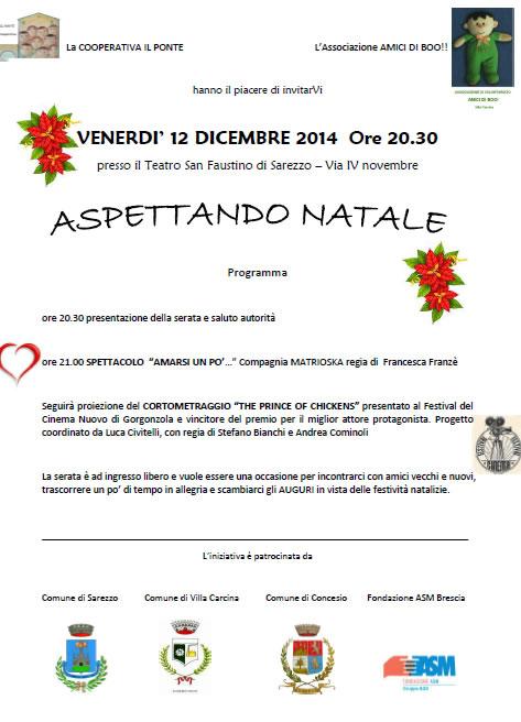 Aspettando Natale 2014 a Sarezzo