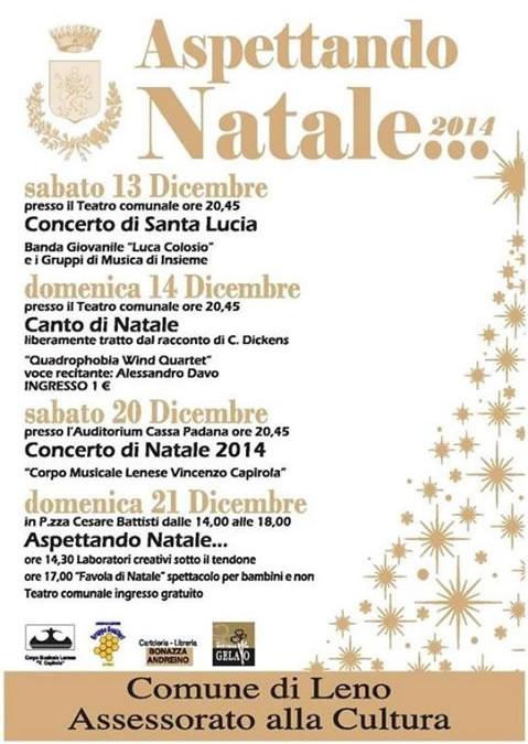 Aspettando il Natale 2014 a Leno
