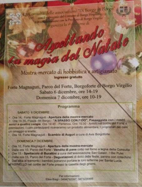 Aspettando la Magia del Natale a Borgo Virgilio (MN)