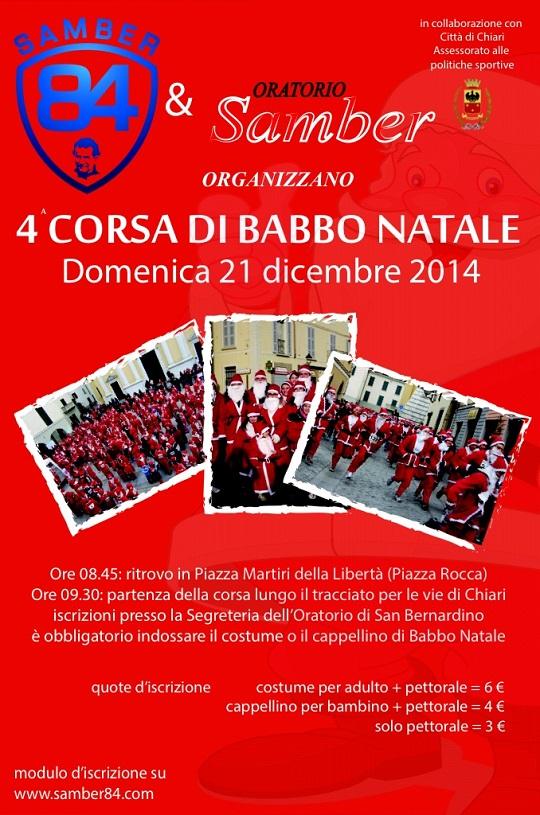 4a Corsa di Babbo Natale a Chiari