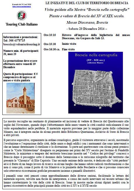 Brescia nella Cartografia con TCI