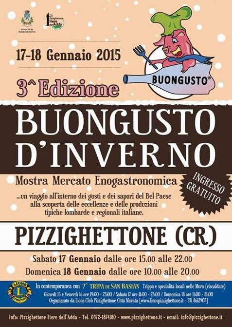 Buongusto d'Inverno a Pizzighettone (CR)
