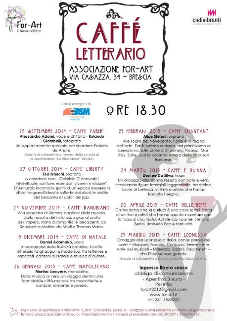 Caffè Letterario a Brescia