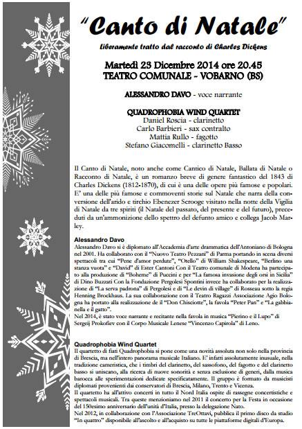 Canto di Natale a Vobarno