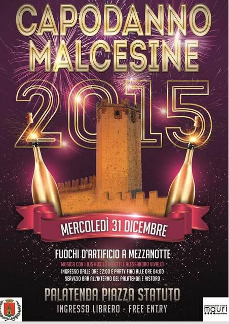 Capodanno 2015 a Malcesine (VR)