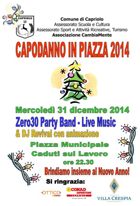 Capodanno in Piazza a Capriolo