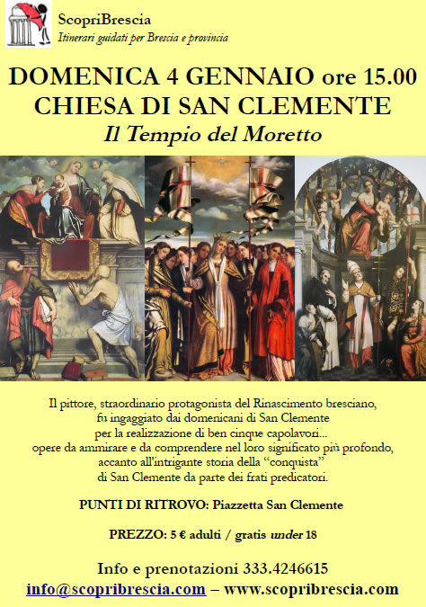 Chiesa di San Clemente con Scopri Brescia