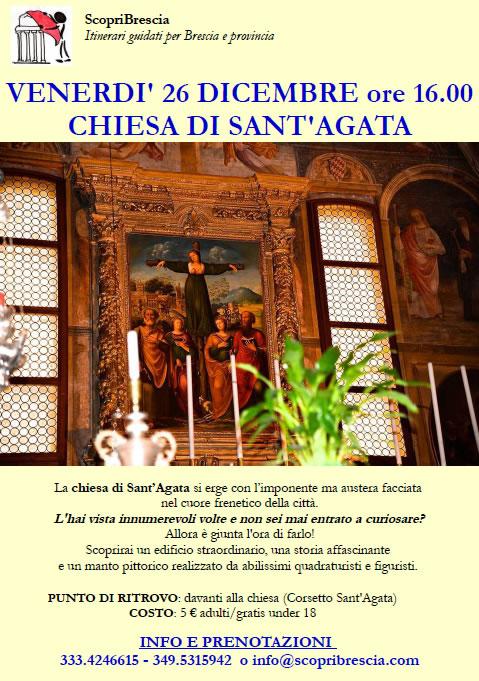 Chiesa di Sant'Agata con Scopri Brescia