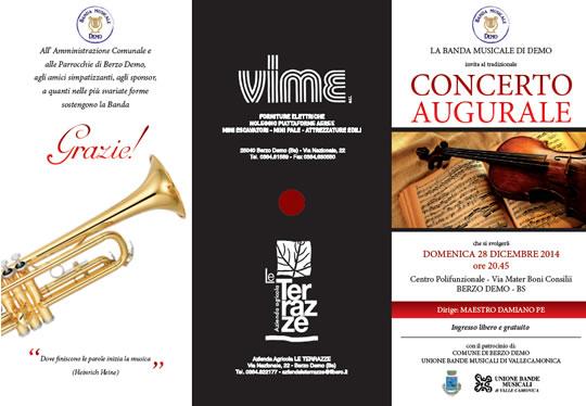 Concerto Augurale a Berzo Demo