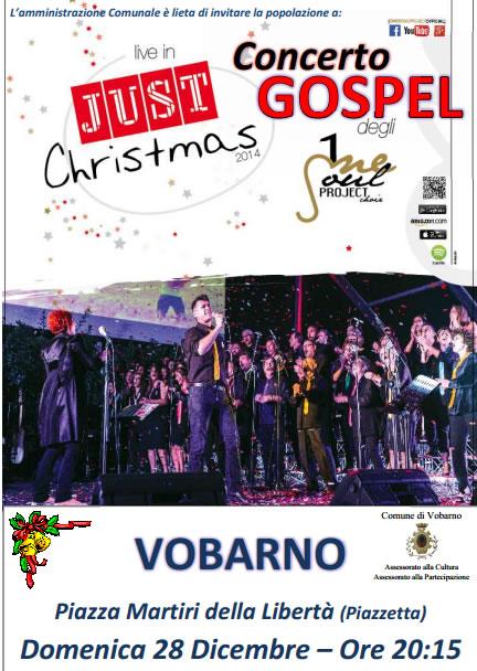 Concerto Gospel a Vobarno