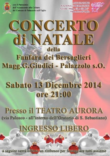 Concerto di Natale a Palazzolo sO