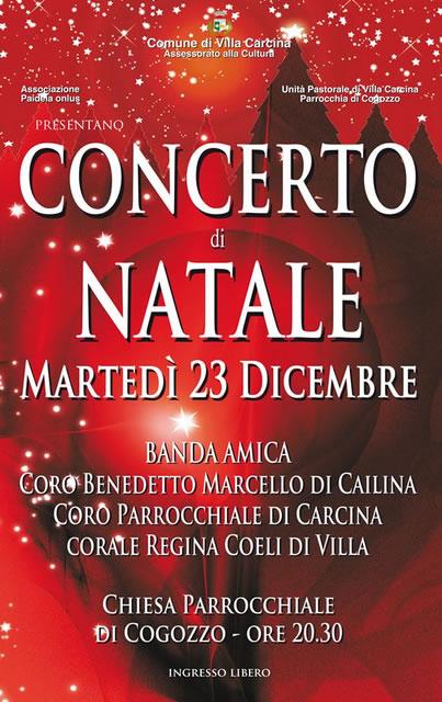 Concerto di Natale a Villa Carcina
