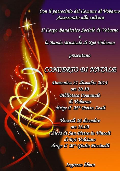 Concerto di Natale a Vobarno