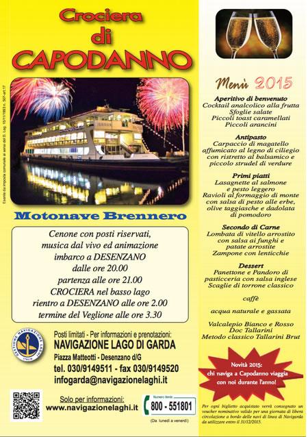 Crociera di Capodanno 2015 a Desenzano
