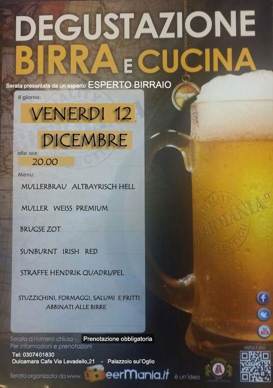 Degustazione BIRRA al Dulcamara di Palazzolo