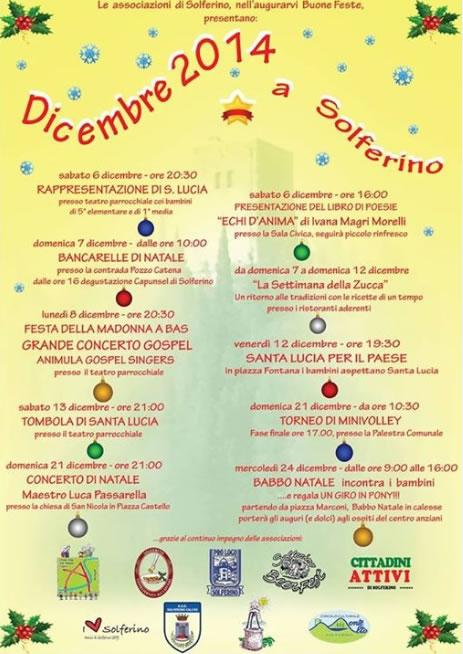 Dicembre 2014 a Solferino (MN)