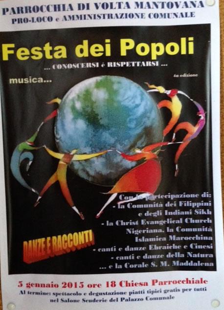 Festa dei Popoli a Volta MN