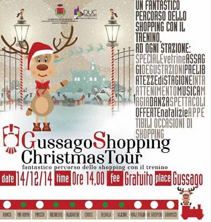 Gussago Shopping Christmas Tour