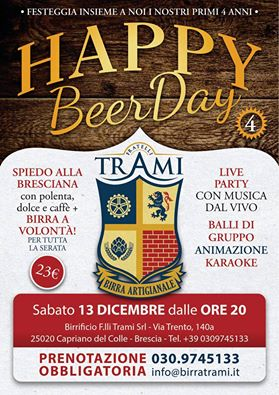 Happy Beer Day Trami 2014