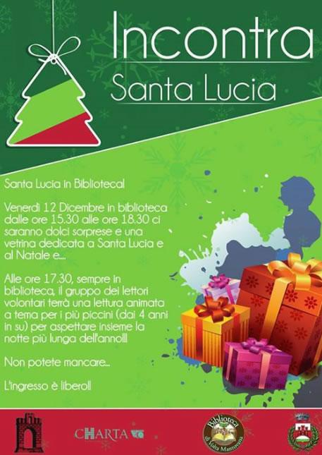 Incontra Santa Lucia a Volta Mantovana