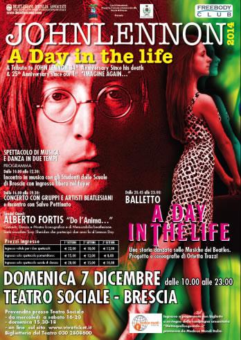 John Lennon Day 2014 a Brescia