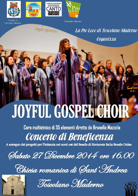 Joyful Gospel Choir a Toscolano Maderno