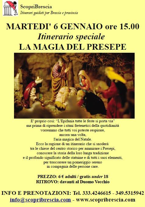 La Magia del Presepe con Scopri Brescia