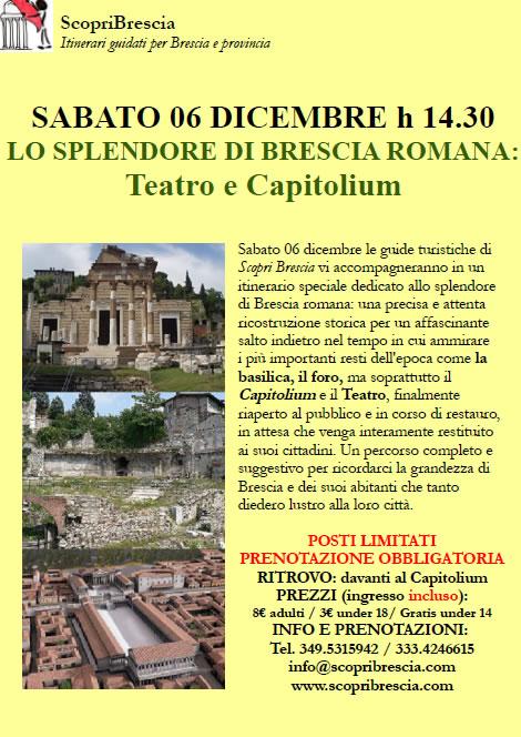Lo Splendore di Brescia Romana con Scopri Brescia