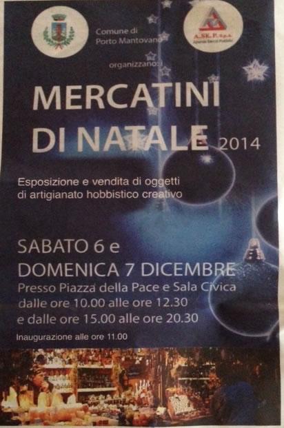 Mercatini di Natale a Porto Mantovano