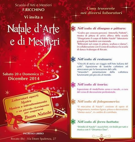 Natale d'Arte e di Mestieri a Rovato