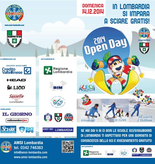 Open Day dello Sci 2014