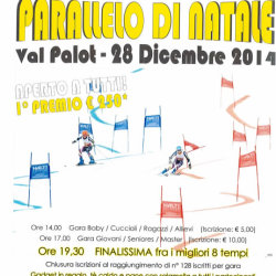 Parallelo di Natale in Val Palot