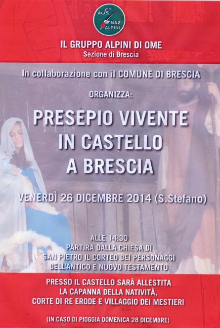 Presepio Vivente in Castello a Brescia