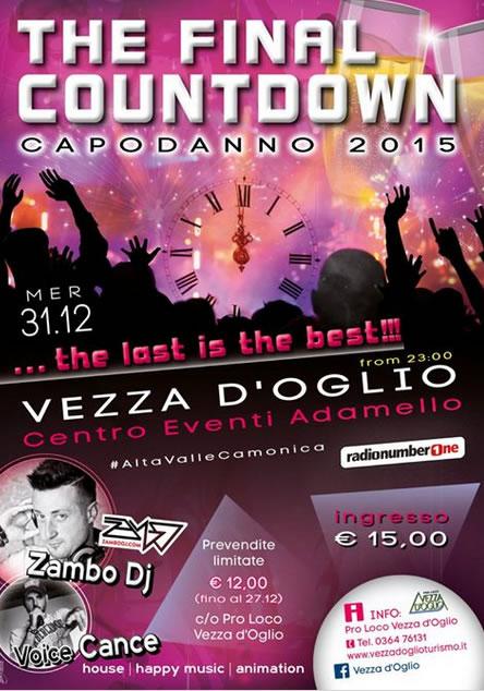 The Final Countdown a Vezza D'Oglio