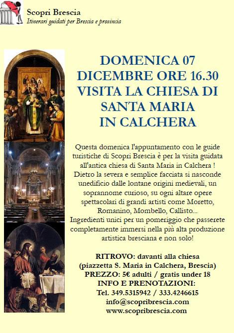 Visita la Chiesa di Santa Maria in Calchera con Scopri Brescia
