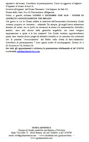 Visite Guidate di Guida Artistica a Brescia