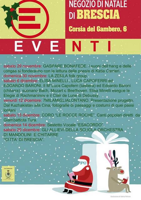 Weekend Musicali al Negozio di Natale di Emergency a Brescia