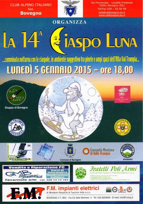 14° Ciaspo Luna a Bovegno
