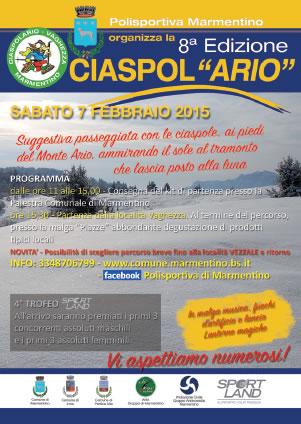 8 Ciaspolario 2015 a Marmentino