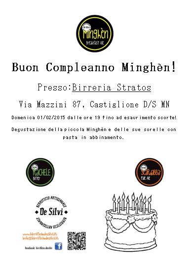 Buon Compleanno Minghèn a Castiglione delle Stiviere