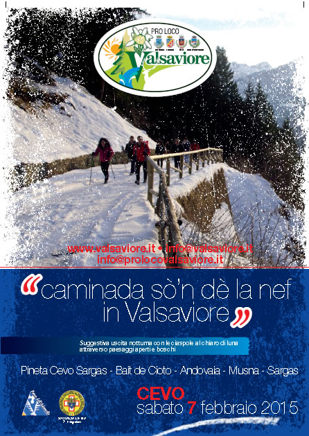 Caminada So'n dè la Nef in Valsaviore