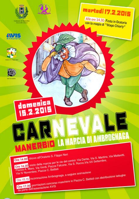 Carnevale 2015 a Manerbio