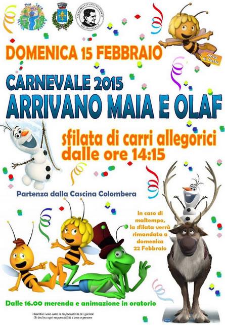 Carnevale 2015 di Azzano Mella