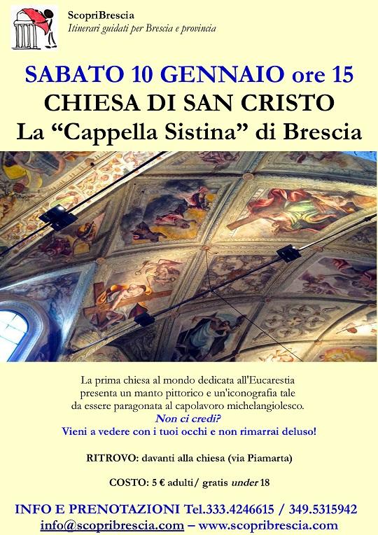 Chiesa di San Cristo con Scopri Brescia