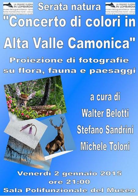 Concerto di Colori in Alta Valle Camonica