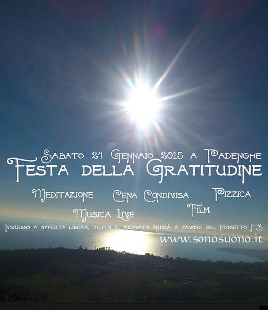 Festa della Gratitudine a Padenghe